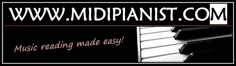 MIDI Pianist - Music reading made easy!